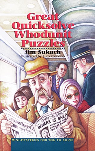 9780806942513: Great Quicksolve Whodunit Puzzles: Mini-Mysteries for You to Solve