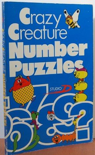 9780806947525: Crazy Creature Number Puzzles