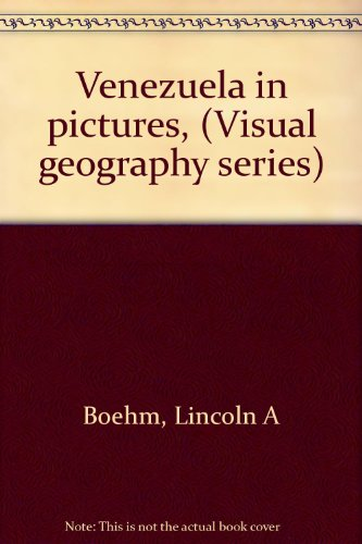 9780806950914: Venezuela in pictures, (Visual geography series)