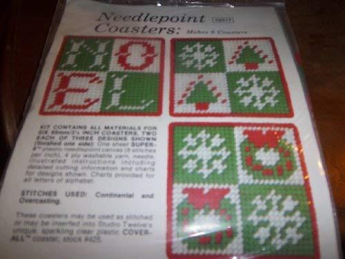 Cross stitchery; needlepointing with yarns in a: Jo Ippolito Christensen