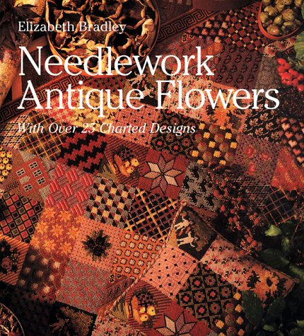 9780806955797: Needlework Antique Flowers: With Over 25 Charted Designs