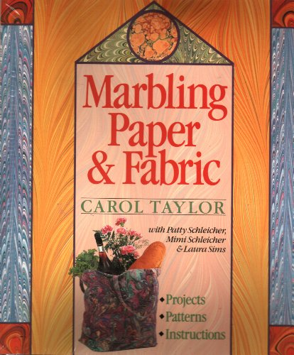 9780806956497: Marbling Paper and Fabric/Book and Kit Gift Set