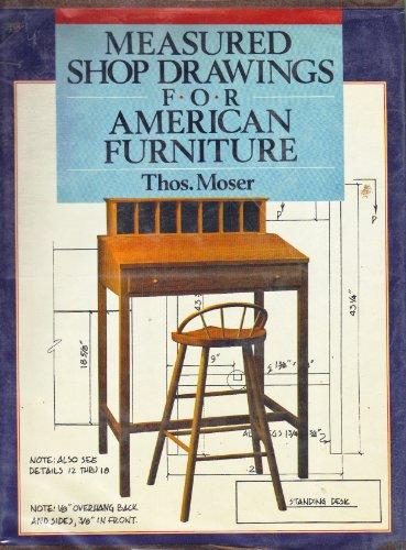 9780806957128: Measured Shop Drawings for American Furniture