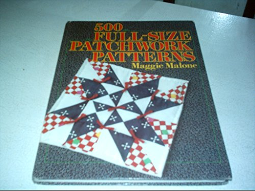 9780806957241: 500 Full Size Patchwork Patterns