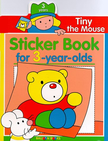 Tiny The Mouse Sticker Book For 3-Year Olds (Balloon): Books, Balloon