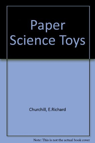 9780806958354: Paper Science Toys