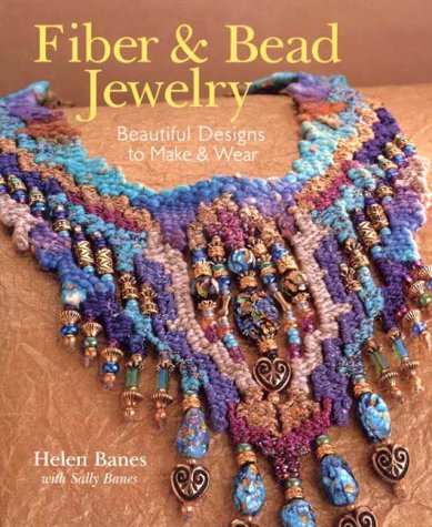 9780806960821: Fiber & Bead Jewelry: Beautiful Designs to Make & Wear