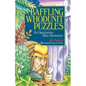 9780806961187: Baffling Whodunit Puzzles: Dr. Quicksolve Mini-mysteries