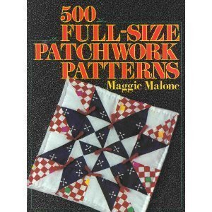 9780806962306: 500 Full Size Patchwork Patterns