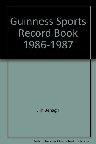 9780806963181: Guinness Sports Record Book 1986-1987