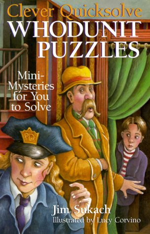 9780806964294: Clever Quicksolve Whodunit Puzzles: Mini-Mysteries For You To Solve