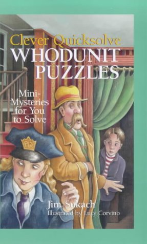 9780806965697: Clever Quicksolve Whodunit Puzzles: Mini-mysteries for You to Solve