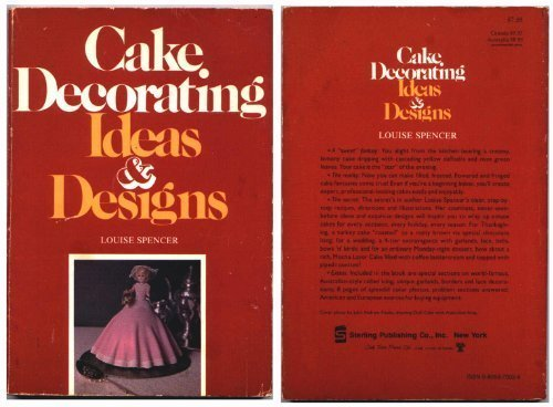 Cake Decorating Ideas and Designs: Spencer, Louise