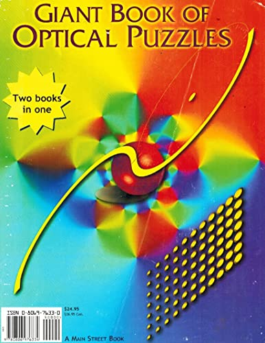 Giant Book of Optical Puzzles/Giant Book of Pencil Puzzles: Keith Kay, Charles Paraquin et.al.