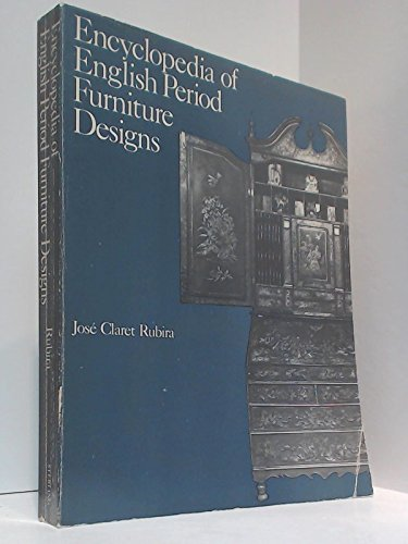 9780806978307: Encyclopaedia of English Period Furniture Designs