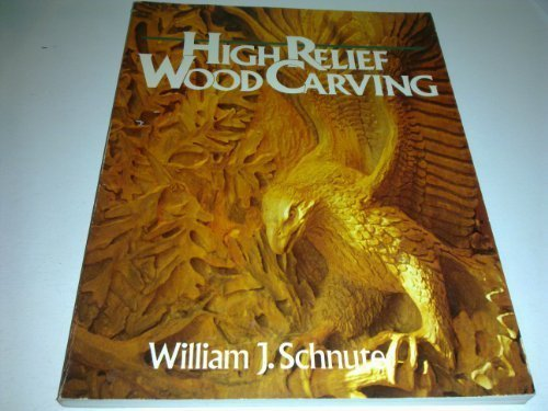 HIGH RELIEF WOOD CARVING.