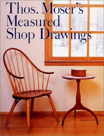 9780806980751: Thos Moser's Measured Shop Drawings for American Furniture