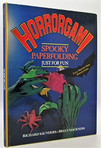 9780806984803: Horrorgami: Spooky paperfolding just for fun