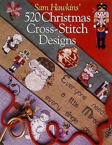 9780806986531: Sam Hawkins' 520 Christmas Cross-Stitch Designs