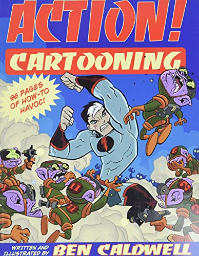 9780806987392: Action! Cartooning: 96 Pages of How-to Havoc!