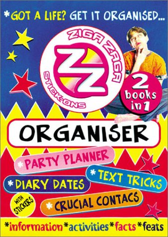Ziga Zaga Organizer by Hands On Crafts for Kids 2002 Book Other