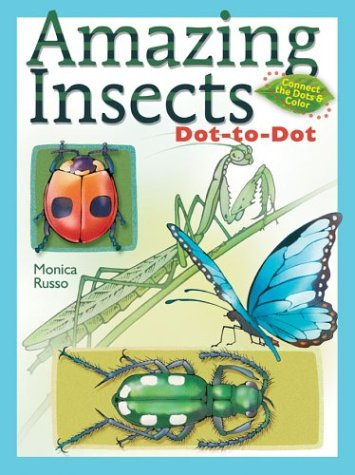 9780806993652: Amazing Insects Dot-to-Dot