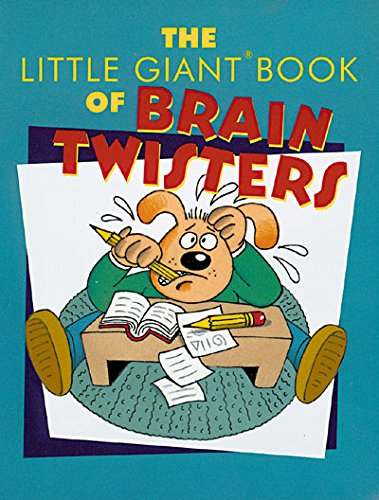 The Little Giant® Book of Brain Twisters (Little Giant Books): Ward, Adam