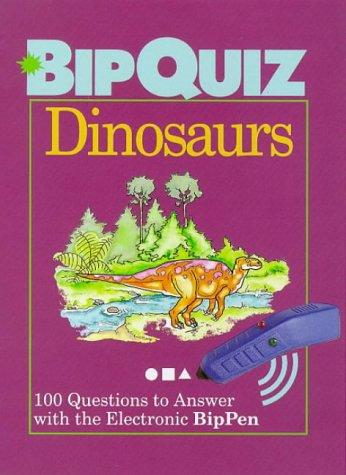 9780806997322: Dinosaurs: 100 Questions to Answer With the Electronic Bippen (Bipquiz)