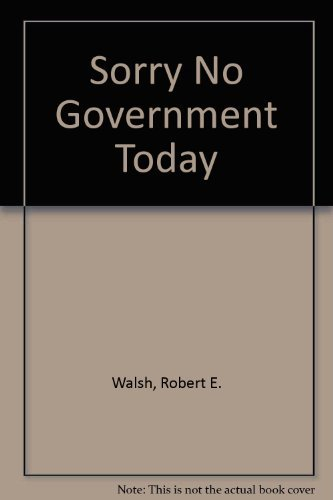 9780807005545: Sorry ... No Government Today: Unions Vs. City Hall; An Anthology