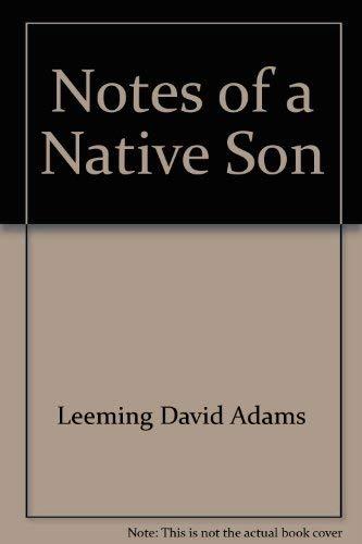 9780807009079: Notes of a native son