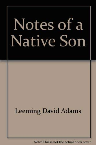notes on a native son essay james baldwin Notes of a native son is a first person narrative about james baldwin who lived with his family in harlem during a difficult time for the equal rights movement in america that starts with in 'notes of a native son,' was most useful to my understanding of this essay because it gives a brief summary of.