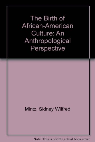 9780807009161: The Birth of African-American Culture: An Anthropological Perspective