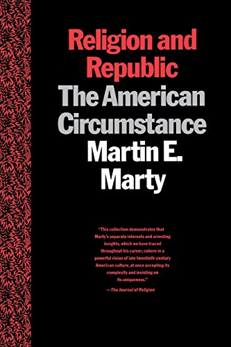 9780807012079: Religion and Republic: The American Circumstance