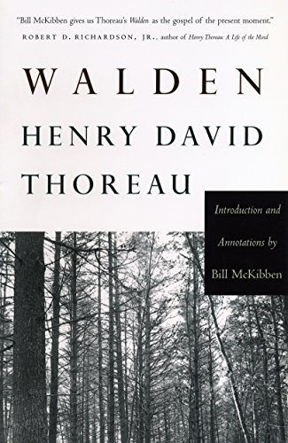 Walden: Introduction and Annotations by Bill McKibben: Thoreau, Henry David;