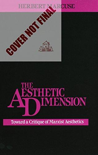 9780807015193: The Aesthetic Dimension: Toward A Critique of Marxist Aesthetics