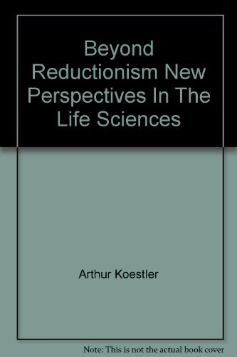 9780807015353: Beyond Reductionism New Perspectives In The Life Sciences