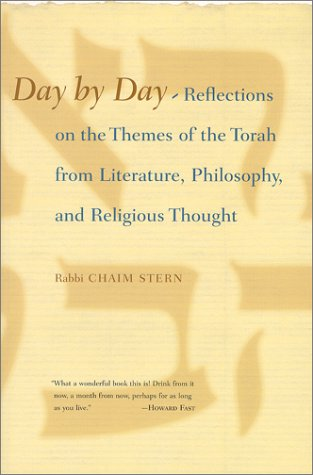 9780807028056: Day By Day: Reflections on the Themes of the Torah from Literature, Philosophy, and Religious Thought