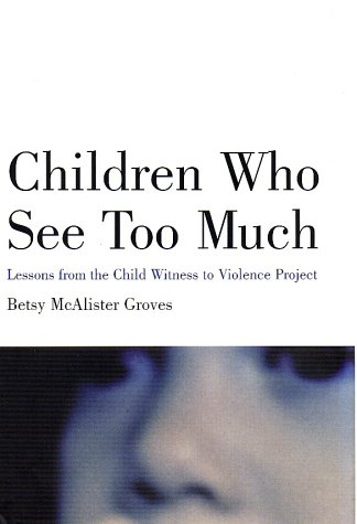 9780807031384: Children Who See Too Much: Lessons from the Child Witness to Violence Project