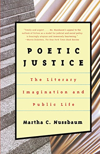 9780807041093: Poetic Justice: The Literary Imagination and Public Life (Alexander Rosenthal Lectures)