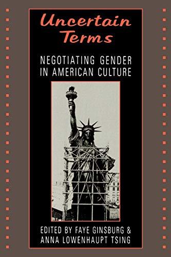 9780807046135: Uncertain Terms: Negotiating Gender in American Culture