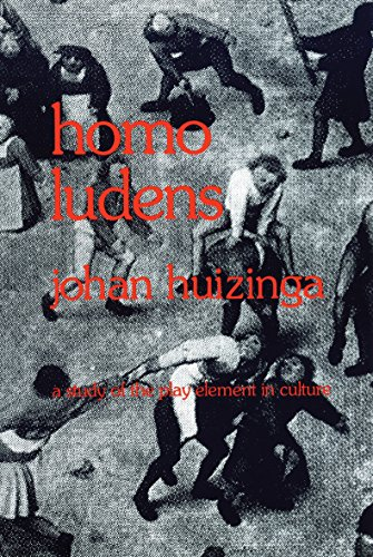 Homo Ludens: A Study of the Play-Element in Culture (0807046817) by Huizinga, Johan