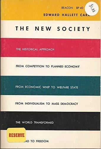 9780807050873: The New Society