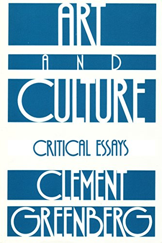 clement greenberg essays Similar authors to clement greenberg  books by clement greenberg  the  collected essays and criticism, volume 1: perceptions and judgments, 1939-.