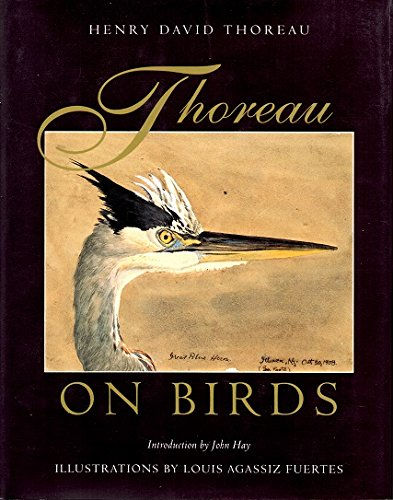 Thoreau on Birds: Notes on New England: Thoreau, Henry David