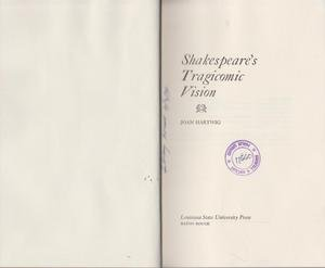 9780807100479: Shakespeare's tragicomic vision