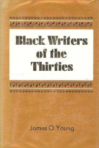 9780807100608: Black writers of the thirties
