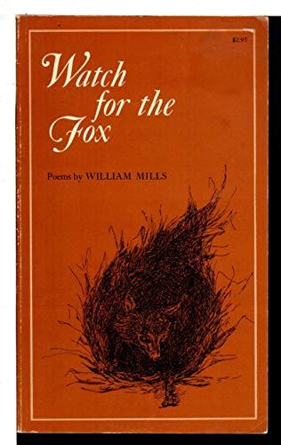 9780807100714: Watch for the Fox: Poems (Louisiana paperbacks)