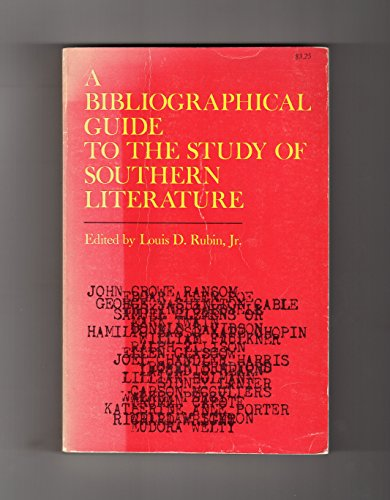 A Bibliographical Guide to the Study of: Rubin, Louis Decimus;