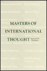 Masters of International Thought: Thompson, Kenneth W.