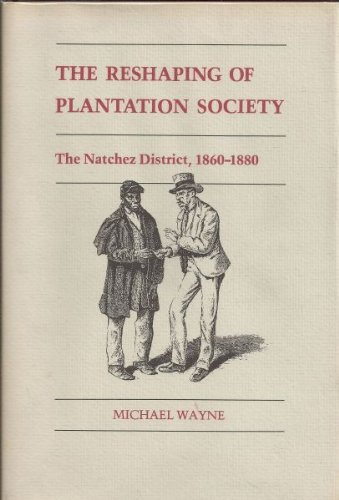 THE RESHAPING OF PLANTATION SOCIETY; THE NATCHEZ DISTRICT, 1860-1880.